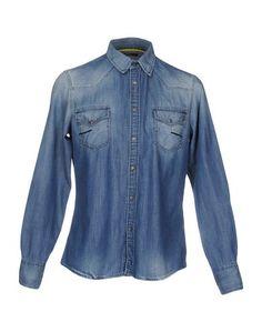 Джинсовая рубашка Meltin POT