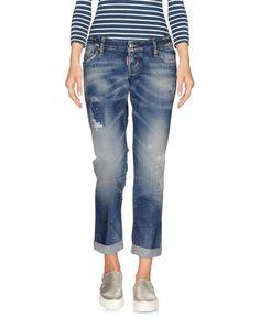 Джинсовые брюки-капри Dsquared2