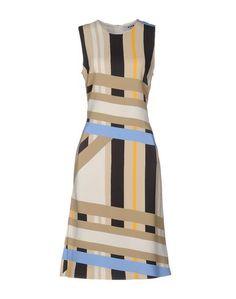 Платье до колена Msgm