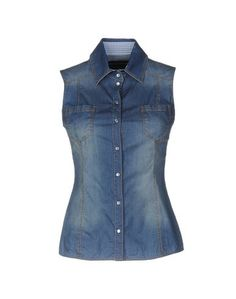 Джинсовая рубашка Ermanno Scervino Beachwear