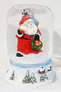 Шар декор Дед Мороз 9х11 см НОВОГОДНЯЯ СКАЗКА