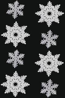 Подвеска Снежинки 1,8 м НОВОГОДНЯЯ СКАЗКА