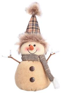 Кукла Снеговик-весельчак 22 см НОВОГОДНЯЯ СКАЗКА