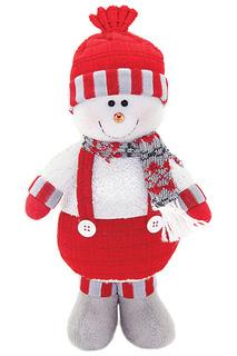 Кукла Снеговик-весельчак 28 см НОВОГОДНЯЯ СКАЗКА