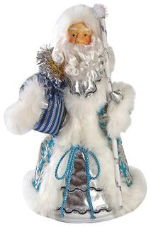 Кукла Дед Мороз 38 см, голуб. НОВОГОДНЯЯ СКАЗКА