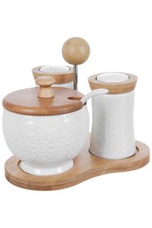 Специи, набор 2 пр., сахарница Best Home Porcelain