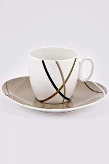 Набор кофейных пар 6 шт. Royal Porcelain Co