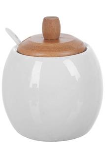 Сахарница с ложкой 500 мл Best Home Porcelain