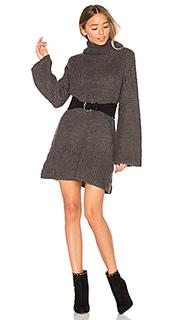 High neck knit dress - MINKPINK
