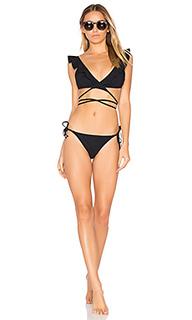 Caravan frill wrap bikini set - Zimmermann