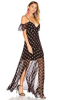 Макси платье prairie ditsy - Needle & Thread