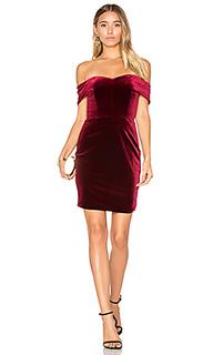Бархатное мини платье - NICHOLAS