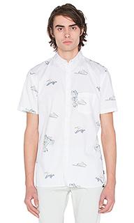 Рубашка с застёжкой на пуговицах pelican - Barney Cools