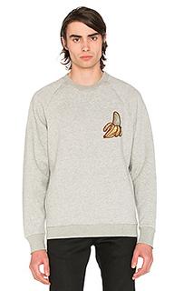 X sk8thing banana crewneck - CLOT