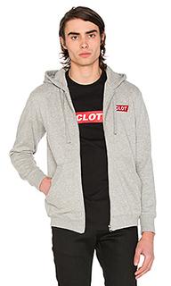 Box logo zip up hoodie - CLOT