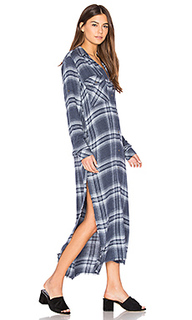 Caines long sleeve duster dress - Bella Dahl