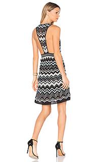Мини платье без рукавов с v-образным вырезом - M Missoni