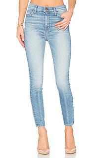 Супер узкие джинсы высокой посаодки - Current/Elliott