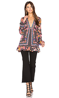 Violet hill printed tunic top - Free People