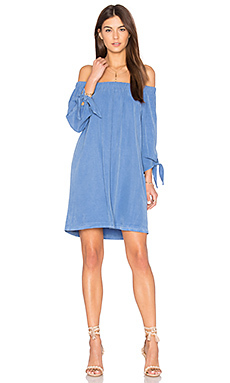 Off shoulder knot dress - maven west