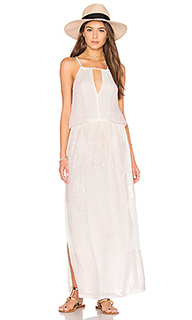 Макси платье с вырезом-капля - Tessora