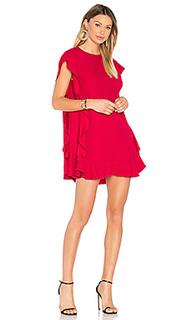 Цельнокройное платье с рюшами - Red Valentino