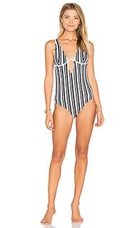Слитный купальник show your stripes - MINKPINK