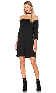 High neck rib dress - MINKPINK