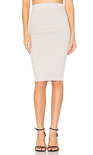 Shirring pencil skirt - James Perse
