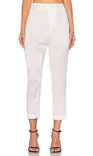 Silk draped trouser - KENDALL + KYLIE