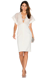 Camelia bonded midi dress - Lover