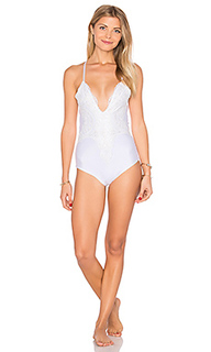 Riviera lace one piece - Lurelly