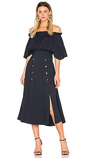 Платье миди dakota - SALONI