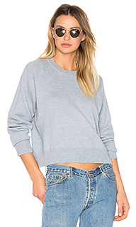 Cashwool crewneck crop sweater - T by Alexander Wang