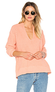 Deep v neck pullover - T by Alexander Wang