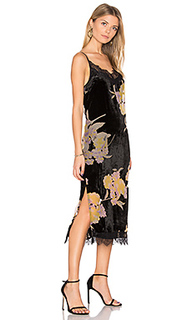 Burnout velvet midi dress - Band of Gypsies