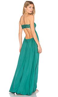 Платье макси без бретелей kai - Tiare Hawaii