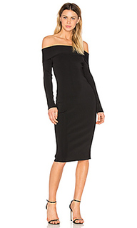 Knit off the shoulder dress - T by Alexander Wang
