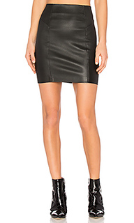 Nappa mini skirt - T by Alexander Wang