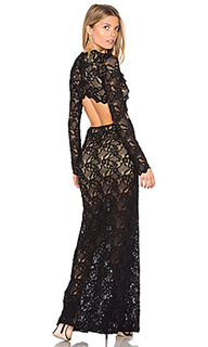 Cut out wisteria lace gown - Nightcap