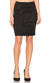 Faux suede pencil skirt - Fifteen Twenty