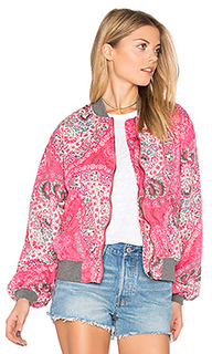 Daytrip printed bomber - Free People