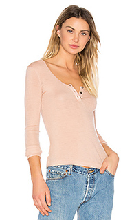 Sheer wooly henley - T by Alexander Wang