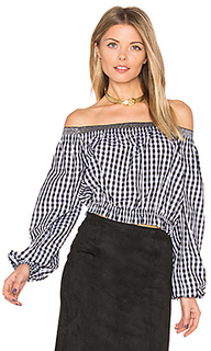 Pintuck off shoulder top - NICHOLAS