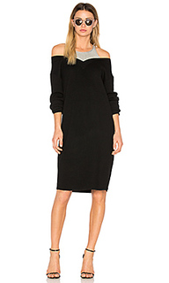 Pullover dress with inner tank - T by Alexander Wang