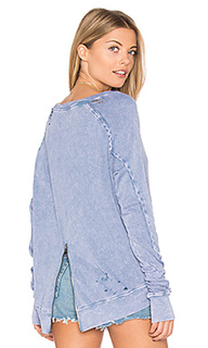 Destroyed annie hi lo sweatshirt - Pam & Gela