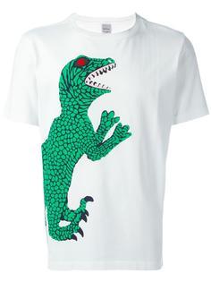 футболка с принтом ящерицы Paul Smith