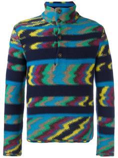 свитер с зигзагообразным узором Missoni