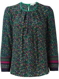блузка с цветочным принтом Vanessa Bruno