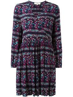 платье с запахом и полосатым узором Vanessa Bruno Athé